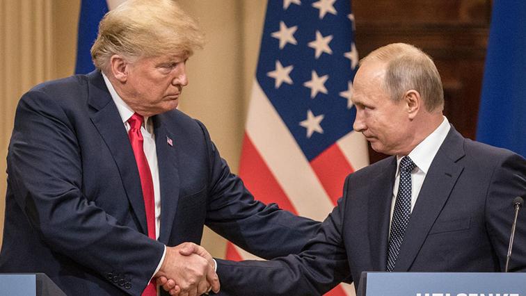 US President Donald Trump and Russian counterpart Vladimir Putin