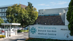 Donald Gordon Medical Centre entrance