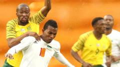 Bafana in action