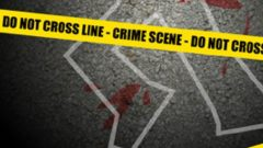 Crime scene graphic