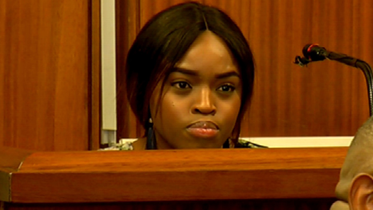 Cheryl Zondi on the stand