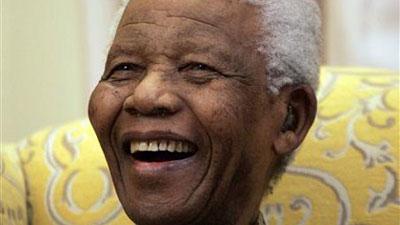 The late former President Nelson Mandela