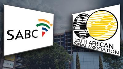 SABC and SAFA logos