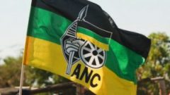 ANC flag with logo