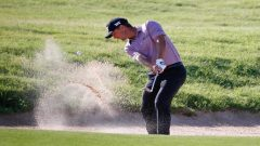 Charles Howell on the course