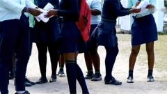 Learners at Manguzi School
