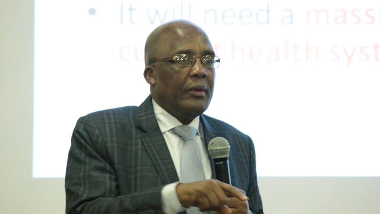 Health Minister Aaron Motsoaledi