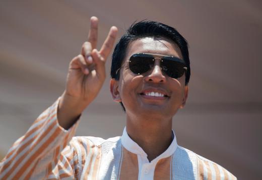 Madagascar Presidential candidate Andry Rajoelina