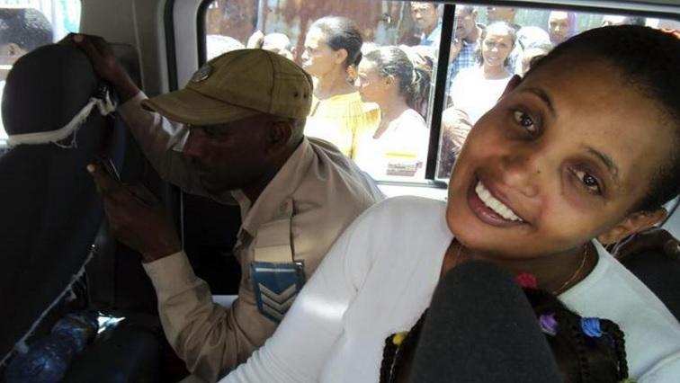 Ethiopian opposition leader, Birtukan Mideksa