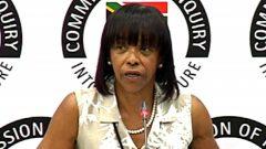Cheryl Carolus testifies at the State Capture