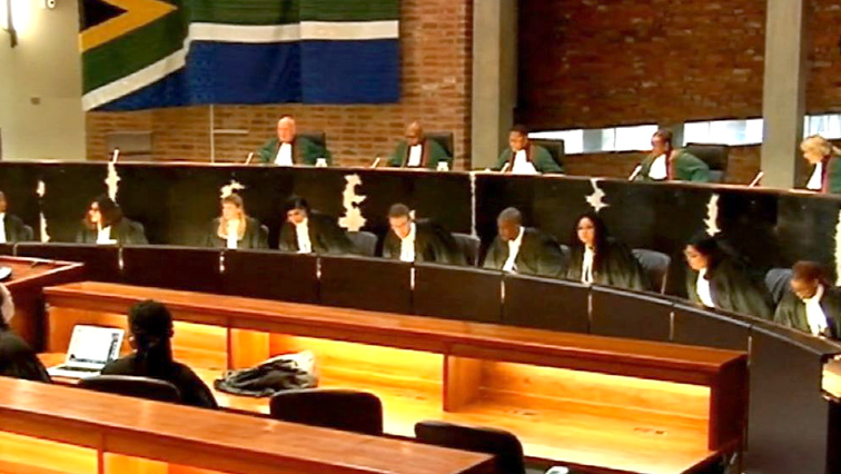 ConCourt judges sitting