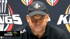 Isuzu Southern Kings coach Deon Davids