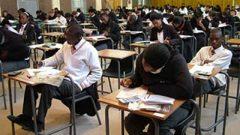 Matric exams room