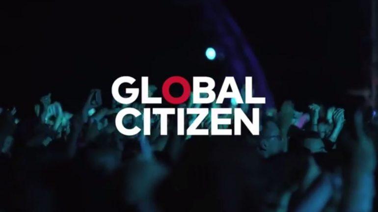 Global Citizen banner