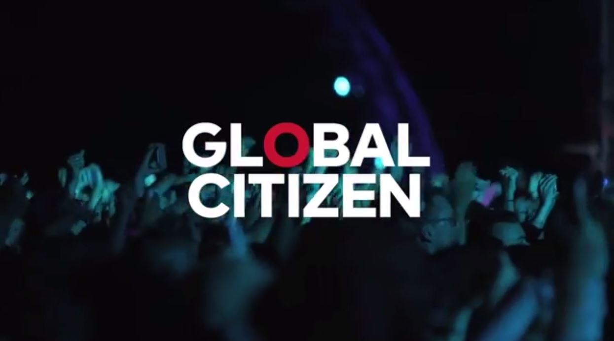 Global Citizen banner