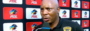 Former black leopards coach Joel Masutha