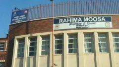 The outside of the Rahima Moosa hospital