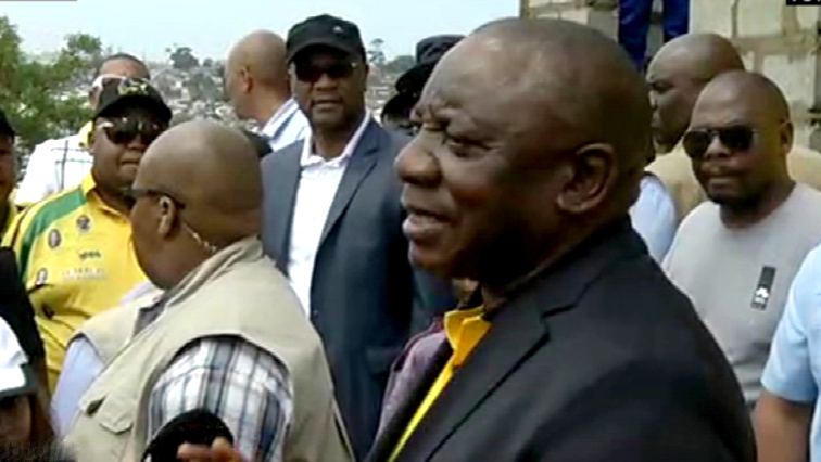 ANC president Cyril Ramaphosa