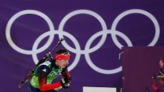 Russian biathlon athlete Evgeny Ustyugov