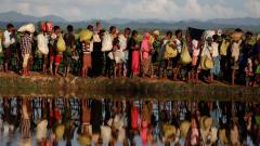 Rohingya refugees