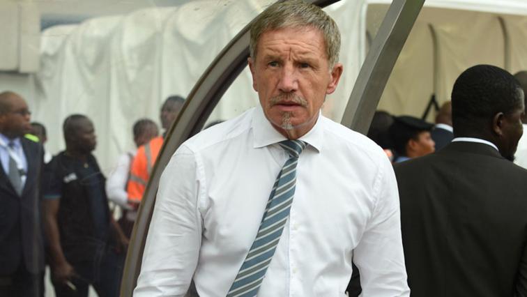 Bafana Bafana Coach Stuart Baxter.