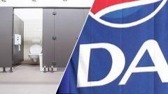 Toilets and DA emblem