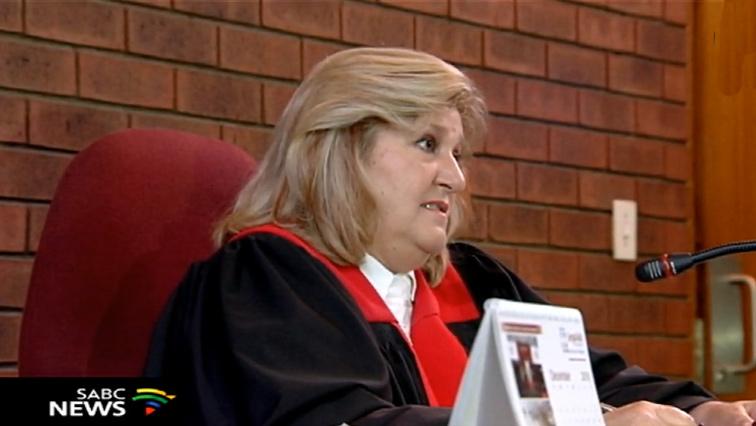 Magistrate Maggie van der Merwe