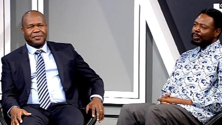 John Mpe and Gilbert Kganyago