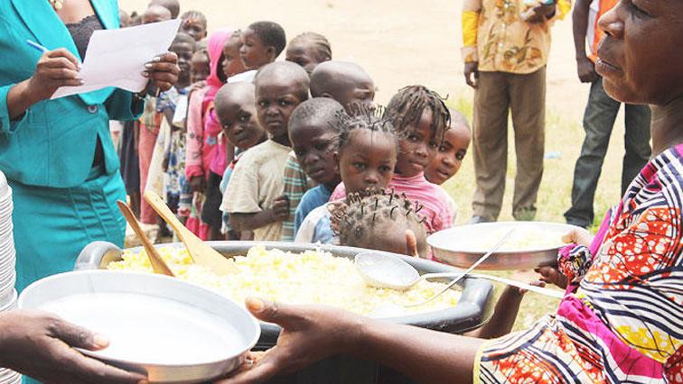 Children in Central Africa
