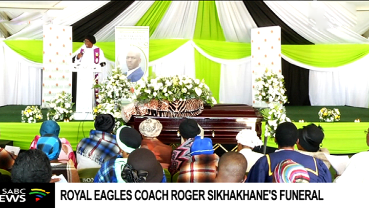 Former Chippa United coach Roger Sikhakhane laid to rest - SABC News - Breaking news, special reports, world, business, sport coverage of all South African current events. Africa's news leader.