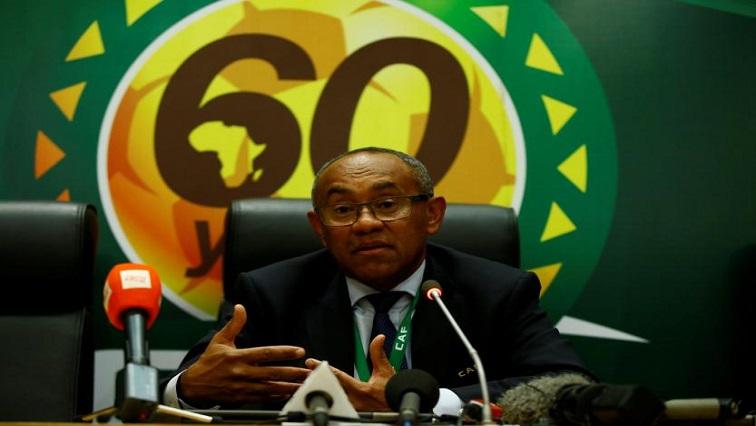 President of CAF Ahmad Ahmad
