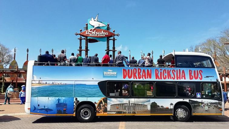 A tourism bus