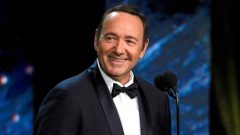 Kevin Spacey smiling