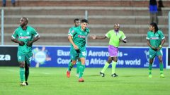 Amazulu players on the field