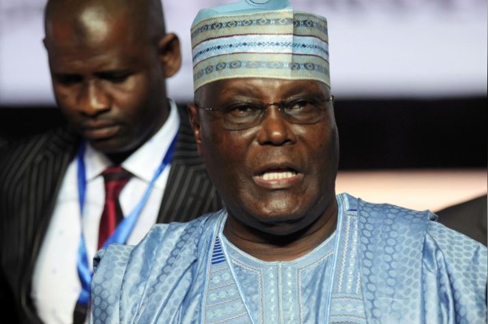 Atiku Abubakar, a former vice president, attends the national convention of Nigeria's opposition People's Democratic Party (PDP).