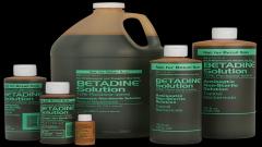 Betadine solutions