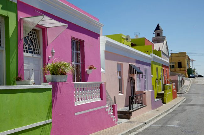 Bo-Kaap colourful houses