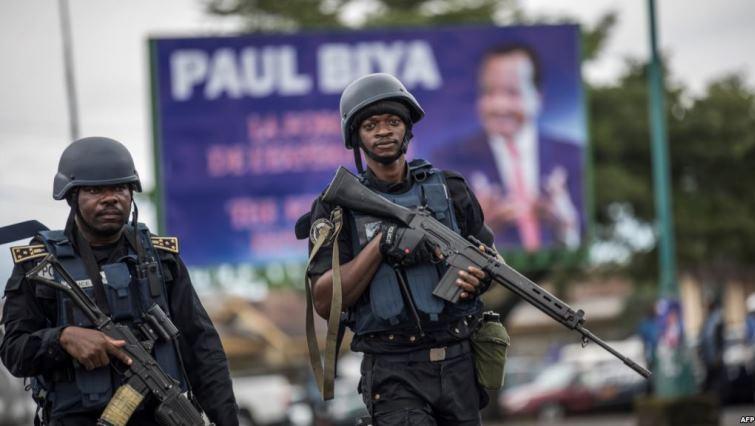 SABC News Cameroon soldiers AFP