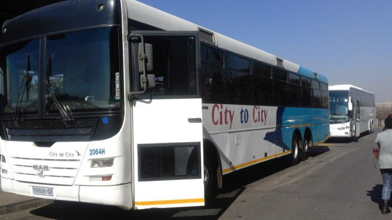City-to-city buses