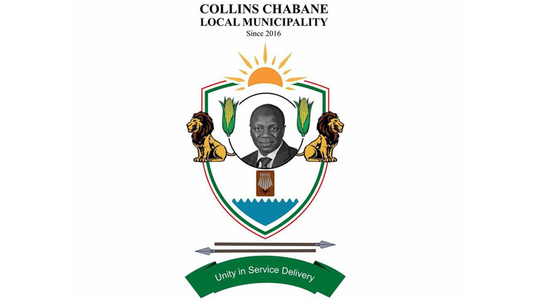 The crest of Collins Chabane municipality