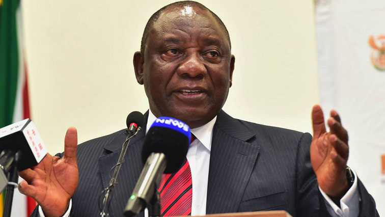 An image of Cyril Ramaphosa