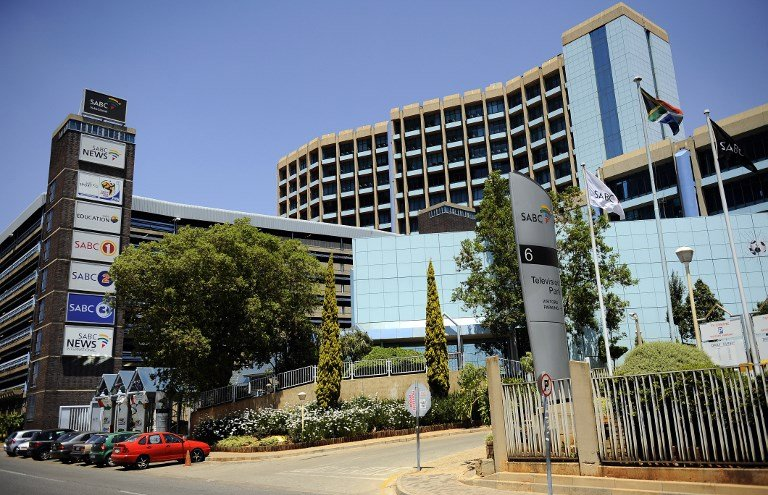 An image of the SABC Head Office.