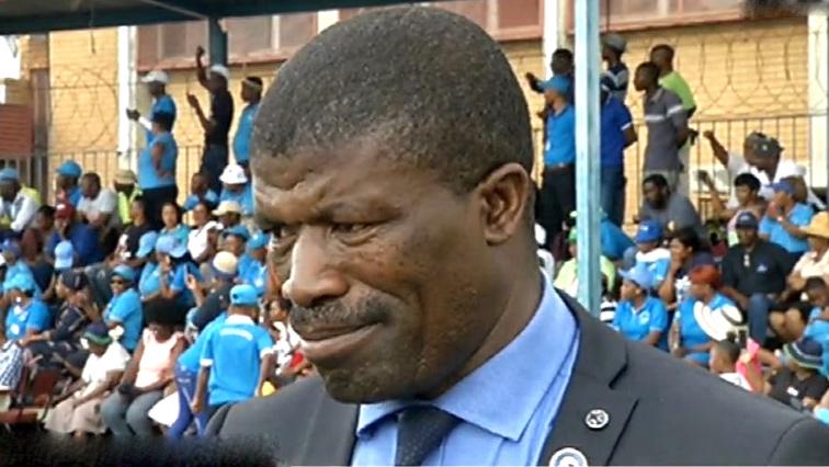 Lesotho's Home Affairs Minister Tsukutla Au