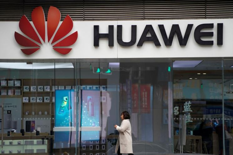 A Huawei outlet