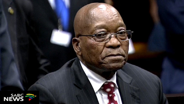 Jacob Zuma in court