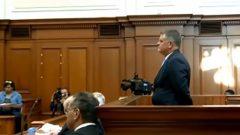 Jason Rohde inside the court room