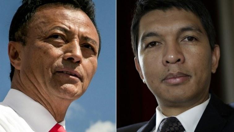 Marc Ravalomanana and Andry Rajoelina