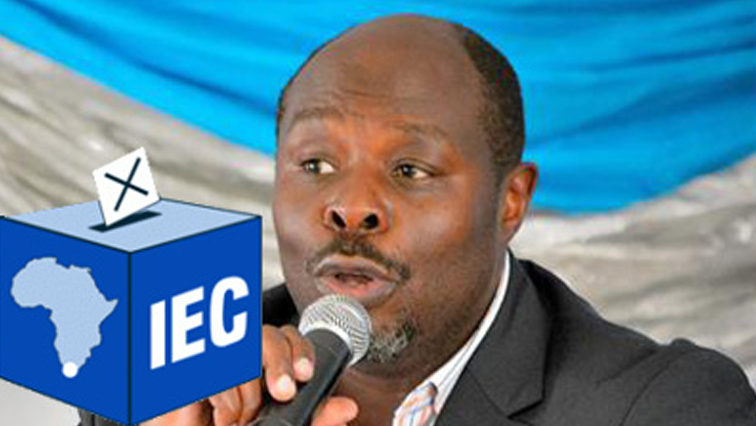 Mawethu Mosery with IEC logo