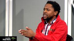 EFF Spokesperson Mbuyiseni Ndlozi