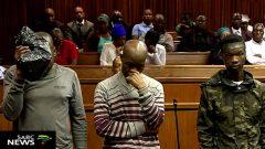 suspects in court
